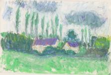 'Breton Poplars'