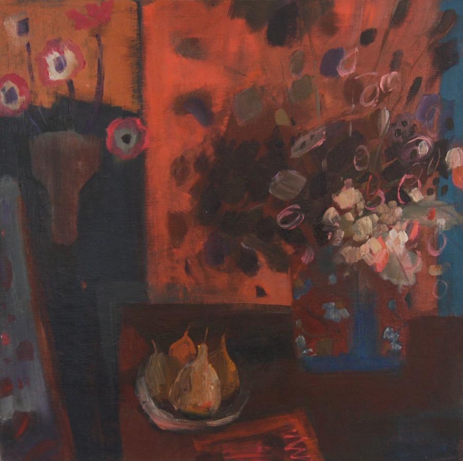 Joan Renton RSW, 'Still Life with Honesty'